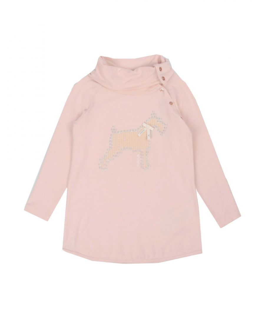 Image for Armani Junior Light Pink Girls Top