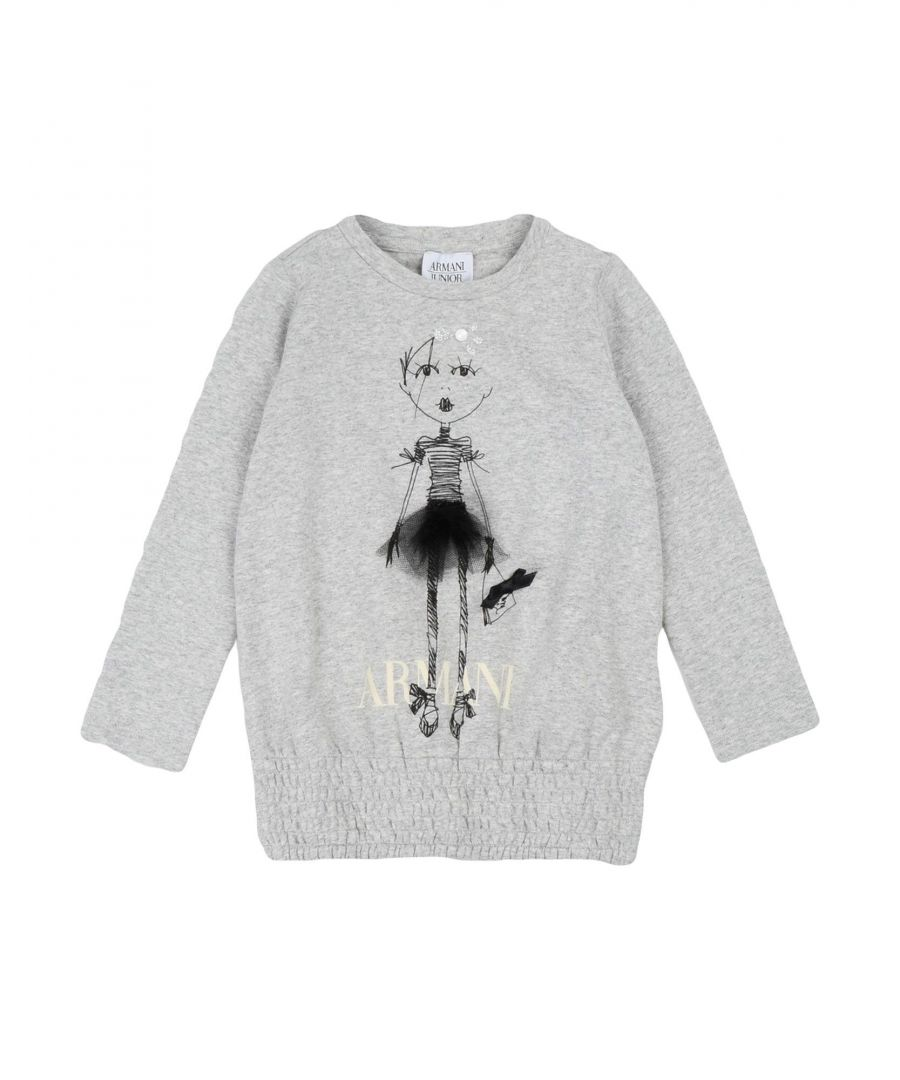 Image for TOPWEAR Armani Junior Light grey Girl Cotton