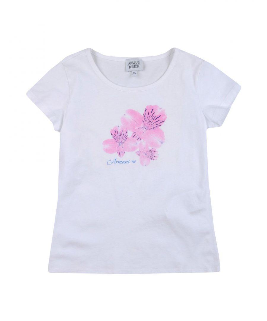 Image for TOPWEAR Armani Junior Fuchsia Girl Cotton
