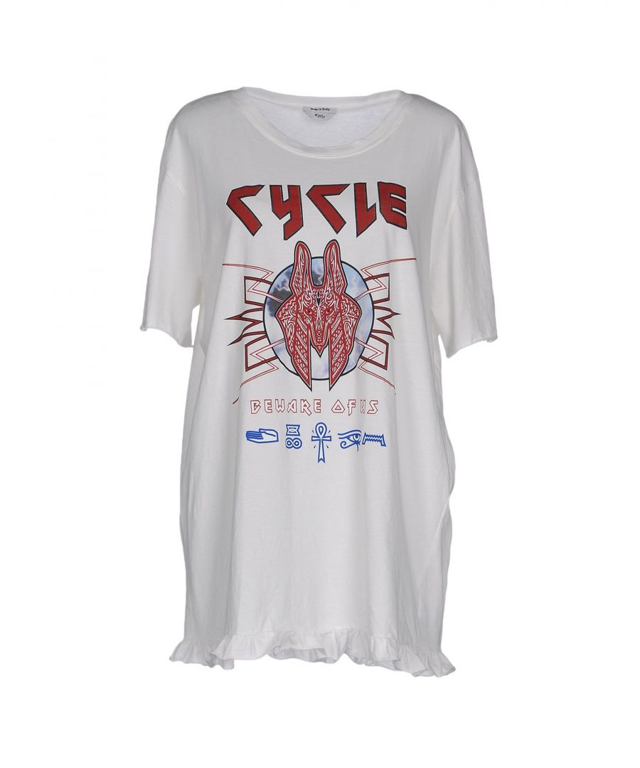 Image for Cycle Women's T-Shirt Ivory Cotton