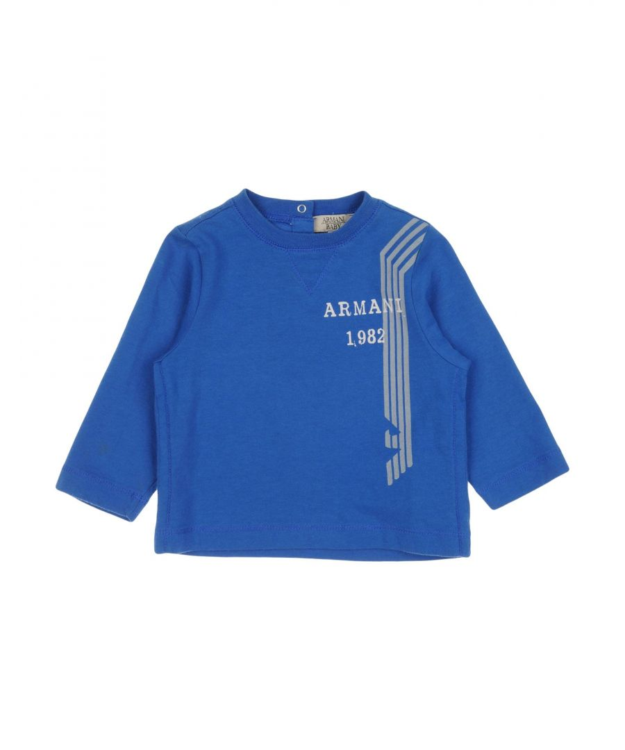 Image for TOPWEAR Armani Junior Azure Boy Cotton