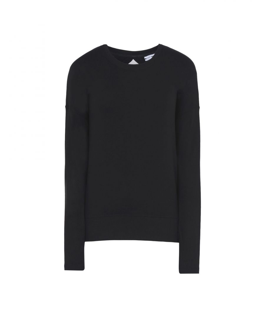 Image for DKNY Black Jersey Long Sleeve T-Shirt