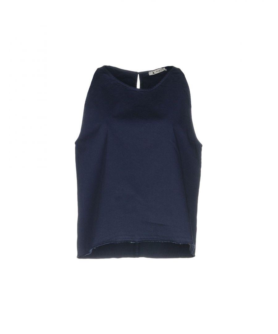 Image for Barena Dark Blue Cotton Top