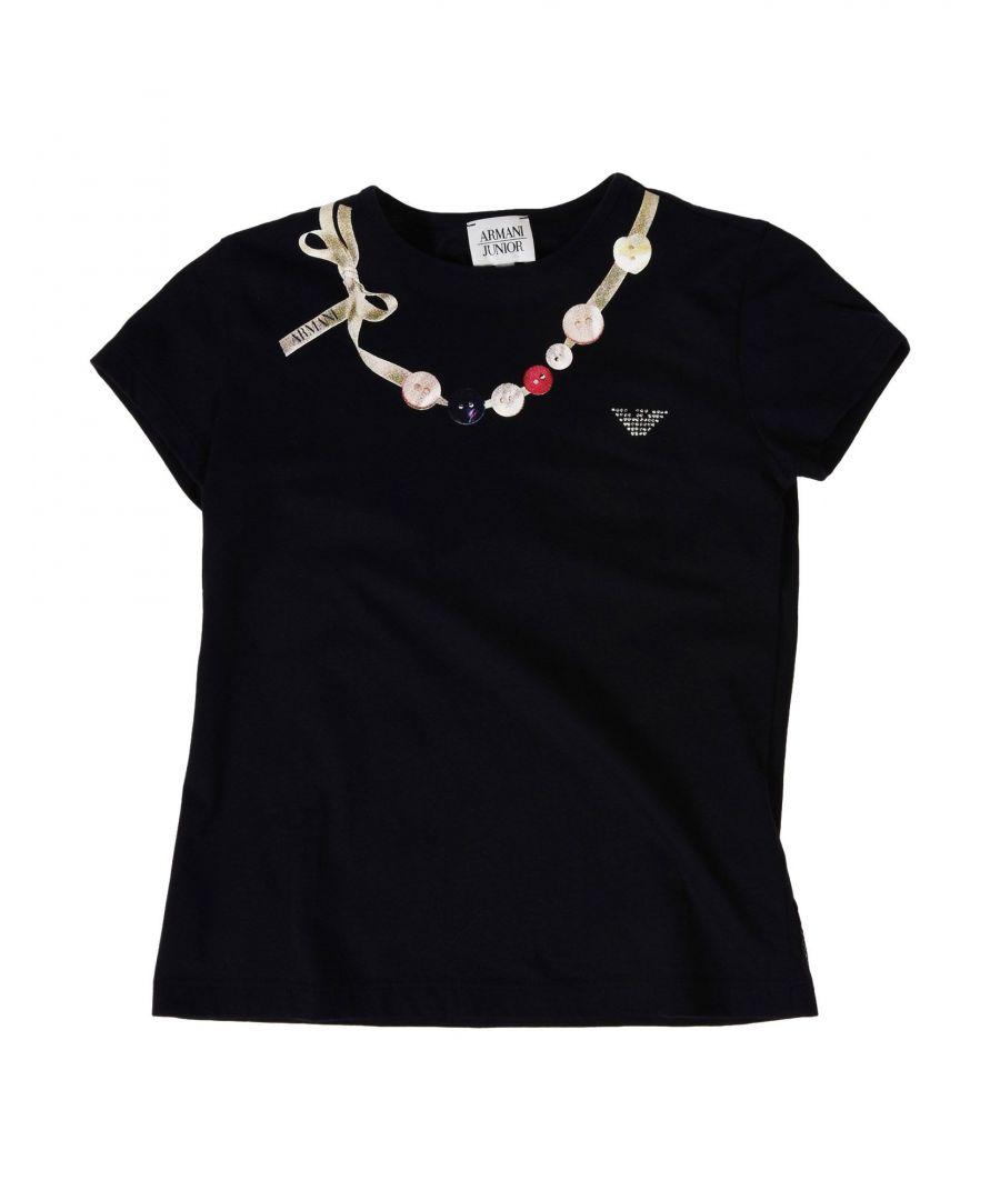Image for TOPWEAR Armani Junior Dark blue Girl Cotton