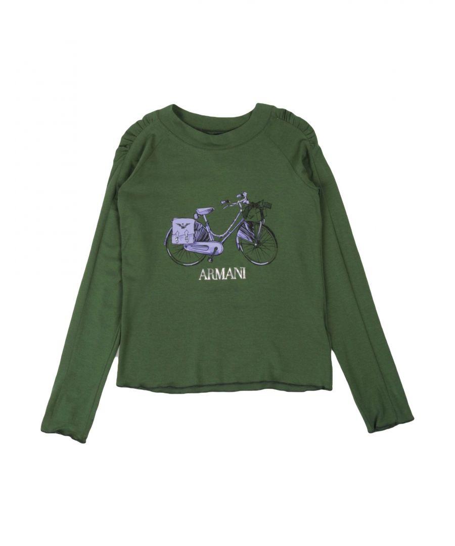 Image for TOPWEAR Armani Junior Green Girl Modal