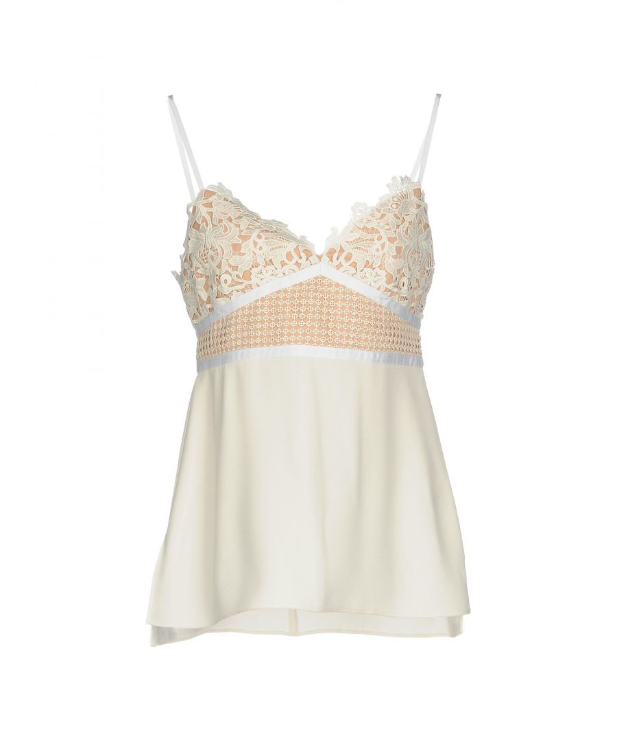 Image for Theory Ivory Lace Camisole
