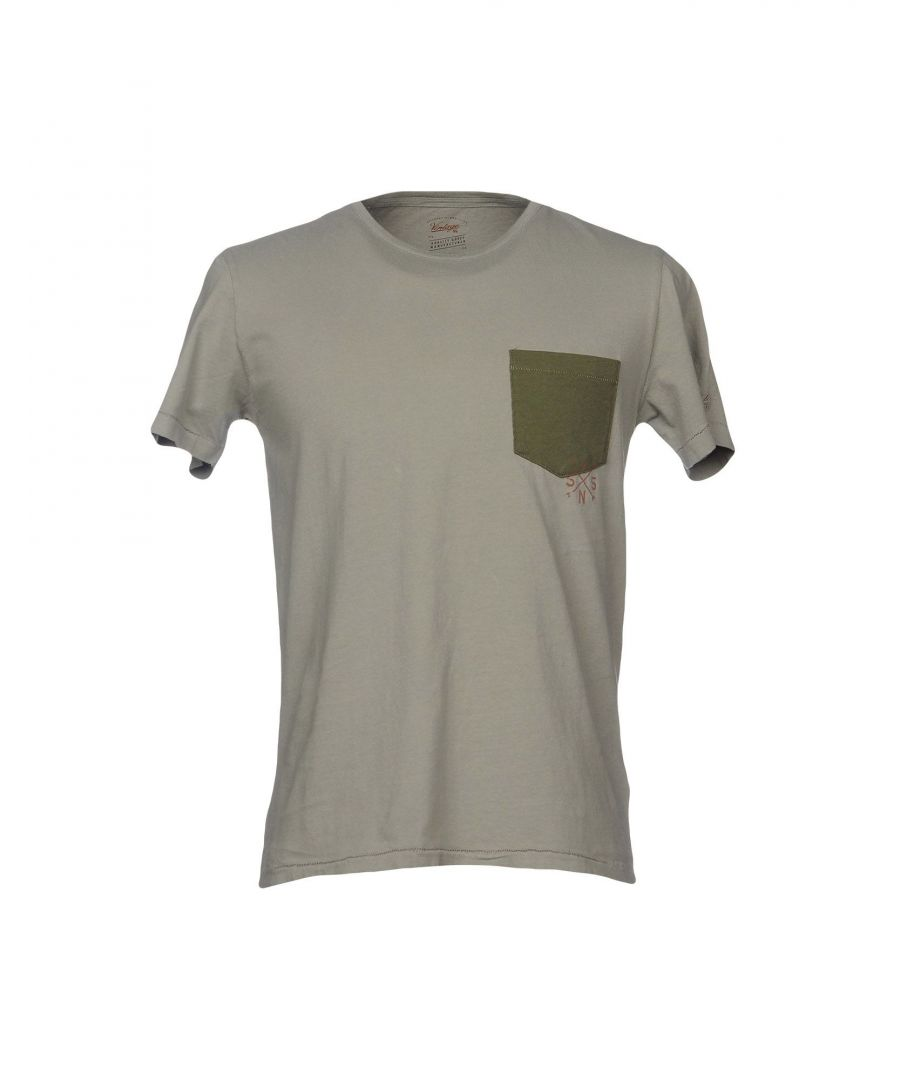 Image for Vintage 55 Military Green Cotton T-Shirt