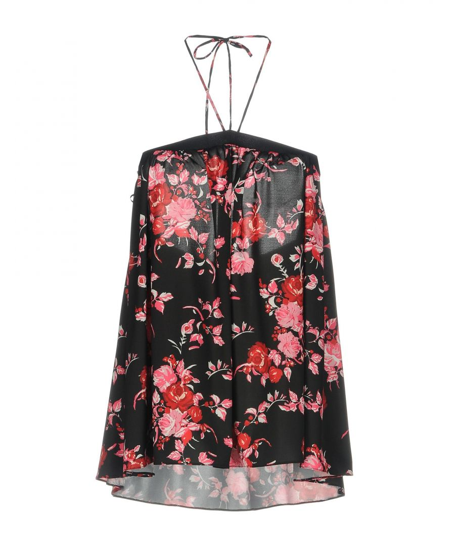 Image for Pinko Black Floral Print Camisole