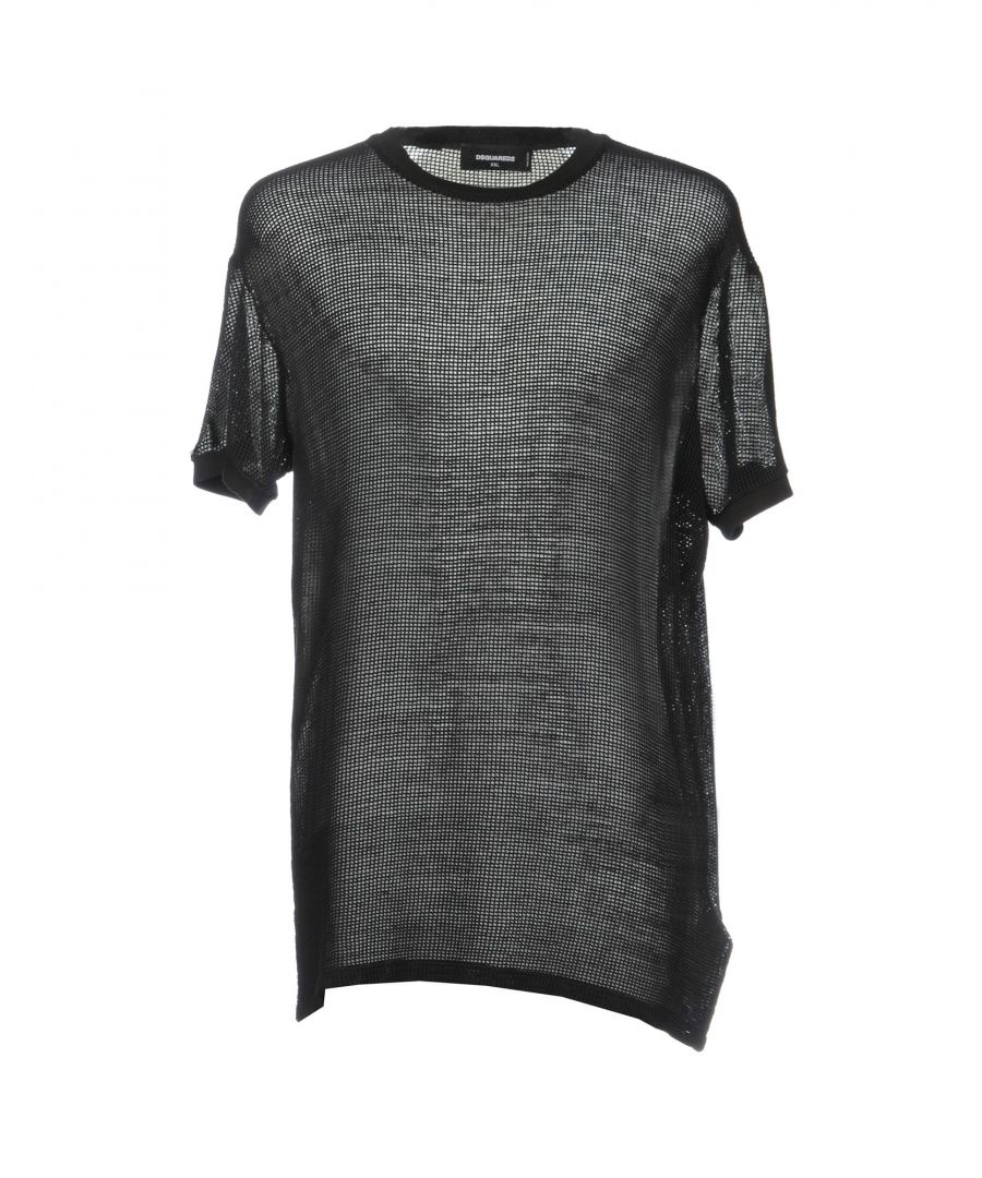 Image for Dsquared2 Black Cotton T-Shirt