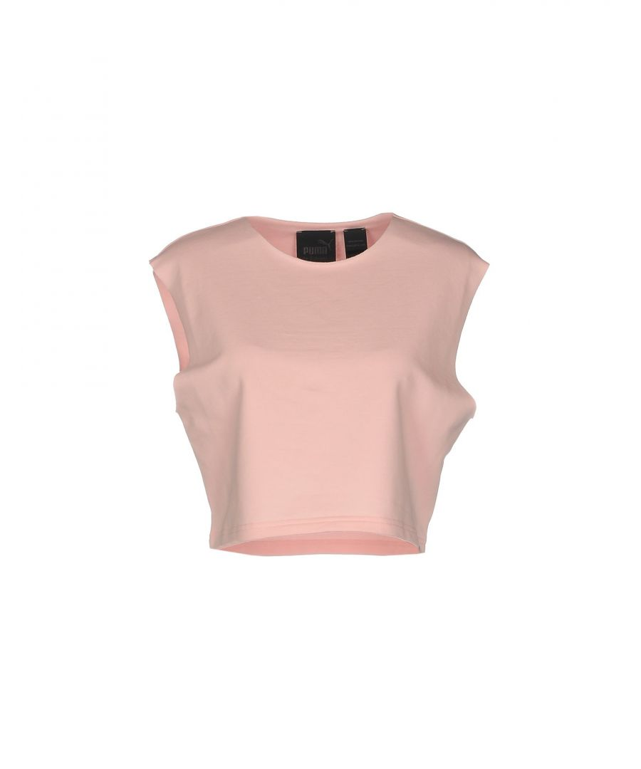 Image for Fenty Puma By Rihanna Pink Cotton Sleeveless Top