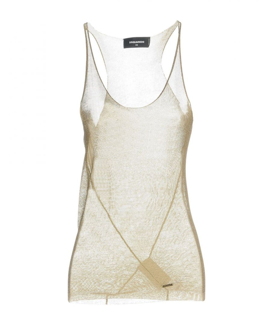Image for Dsquared2 Beige Knit Tank