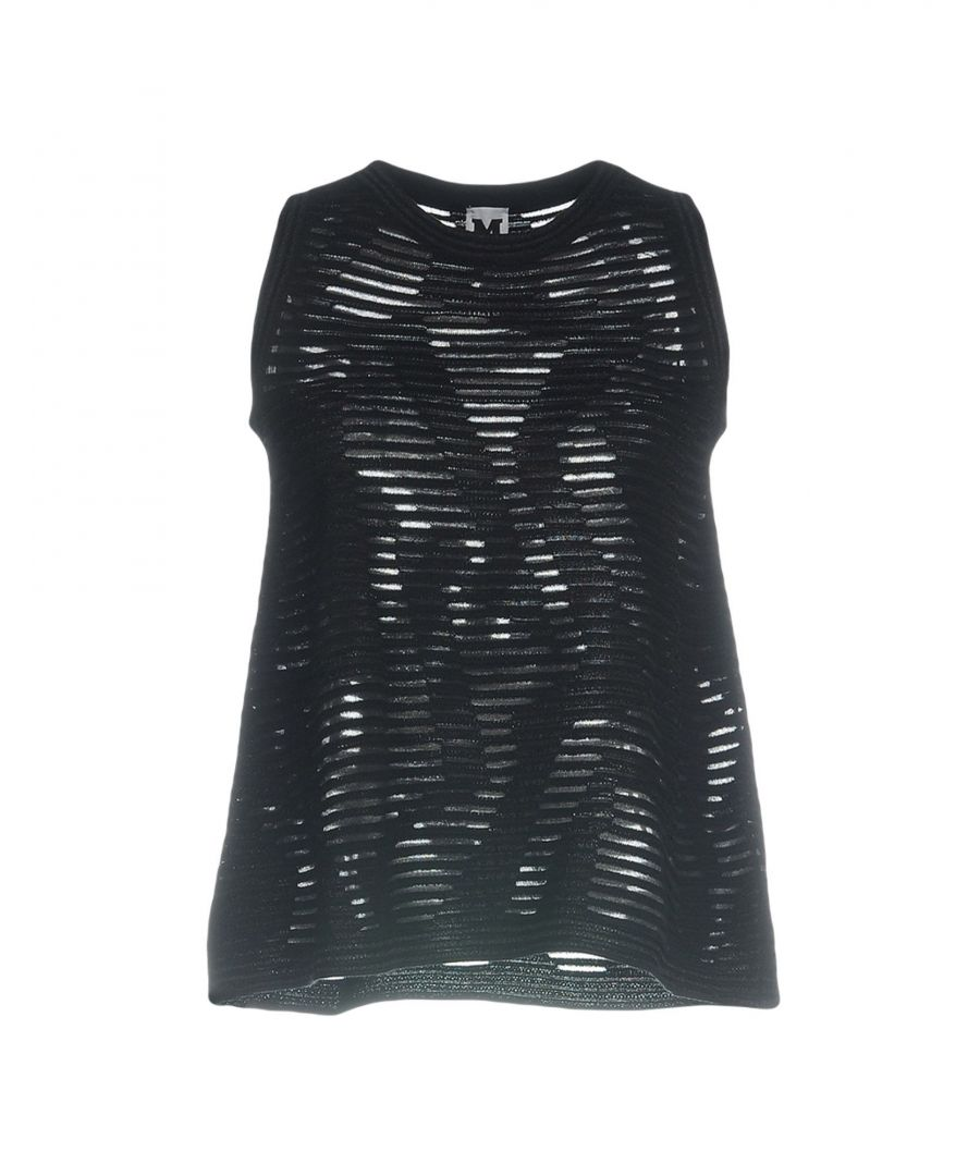 Image for M Missoni Black Sleeveless Knit