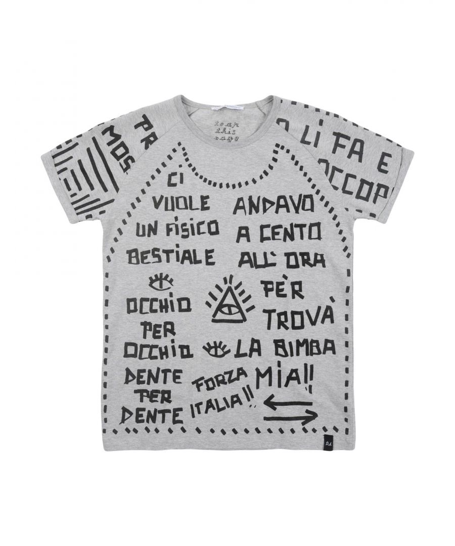 Image for TOPWEAR Dsquared2 Grey Boy Cotton