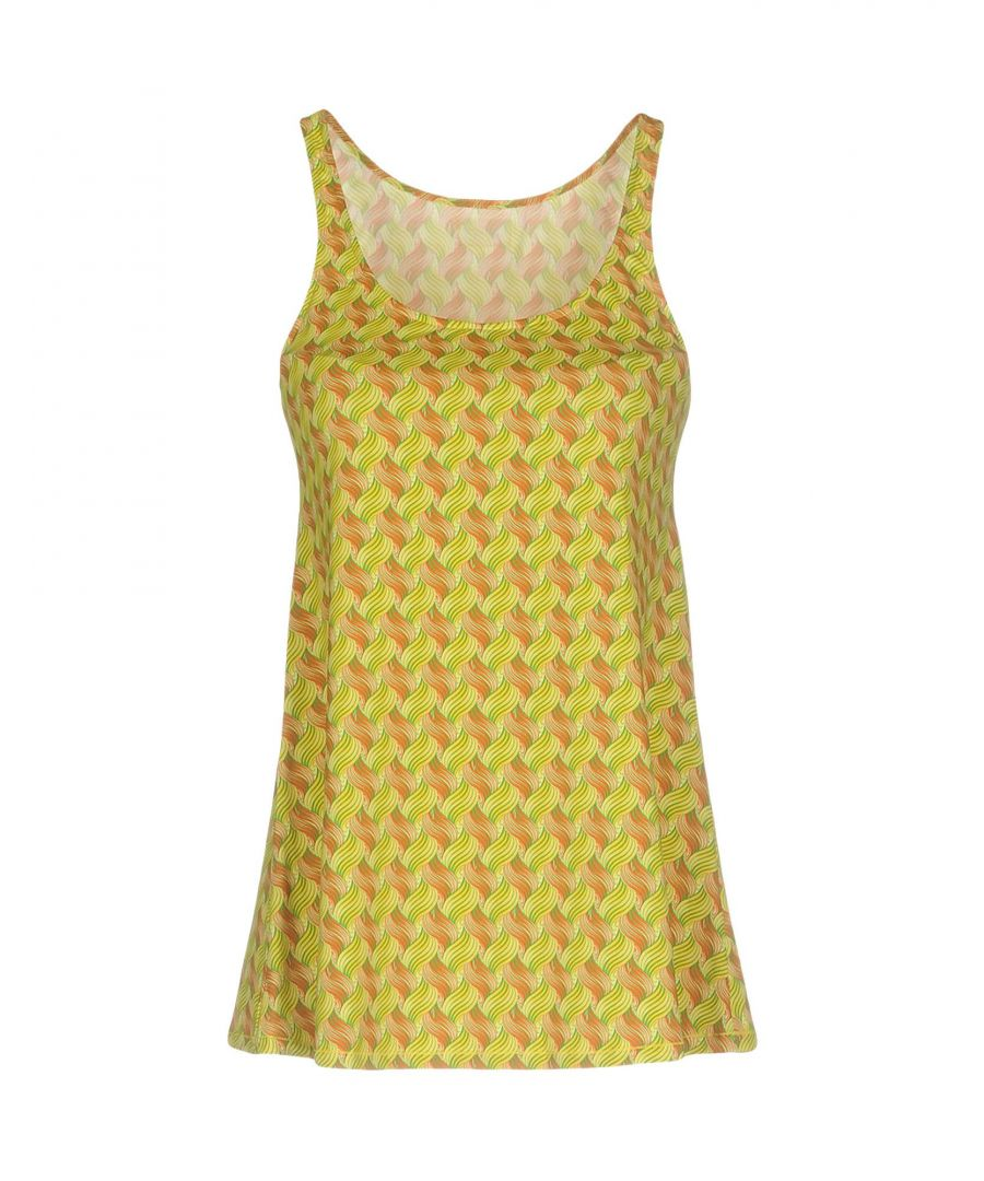 Image for Fisico Yellow Polyamid Tops