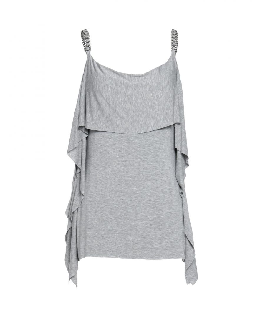 Image for Bailey 44 Grey Rayon Top
