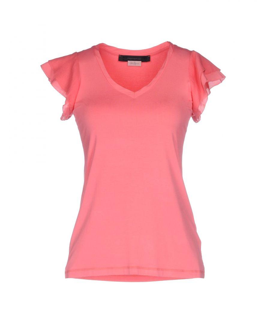 Image for Nenette Women's T-Shirt Coral Cotton