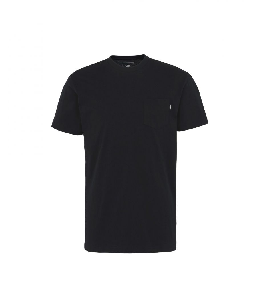 Image for Vans Black Cotton T-Shirt