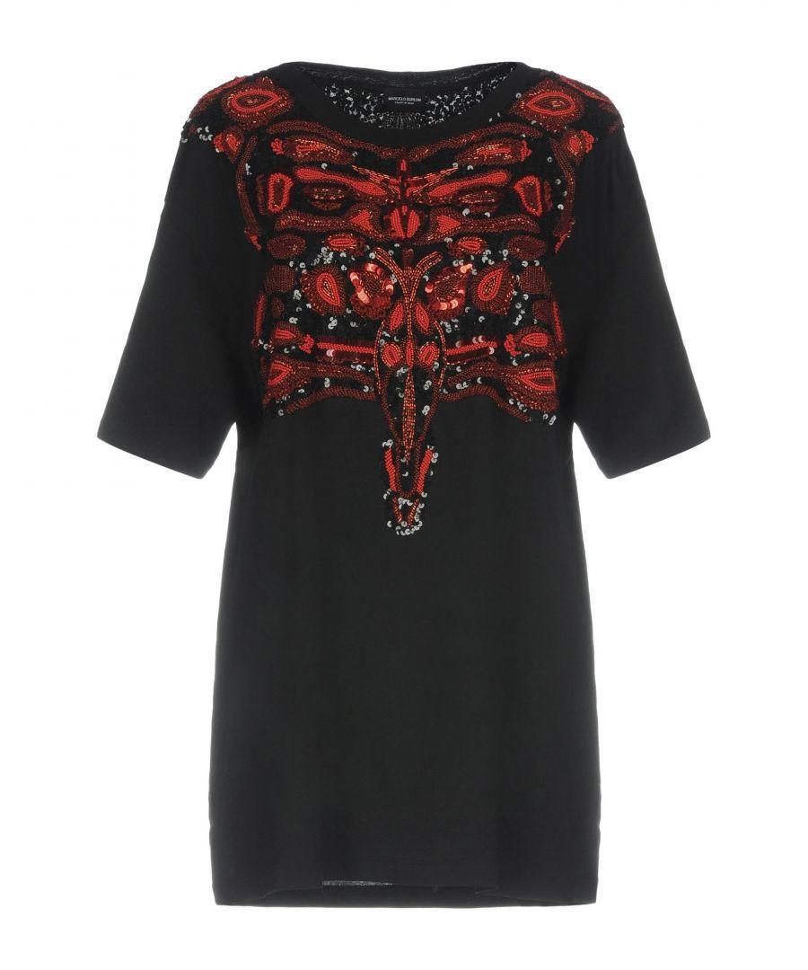 Image for Marcelo Burlon Black Cotton T-shirts