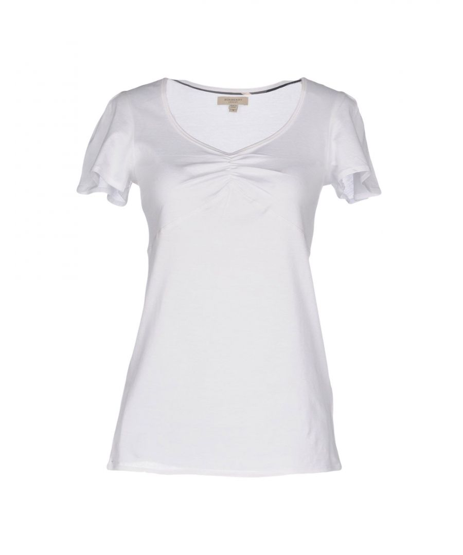 Image for TOPWEAR Burberry White Woman Cotton