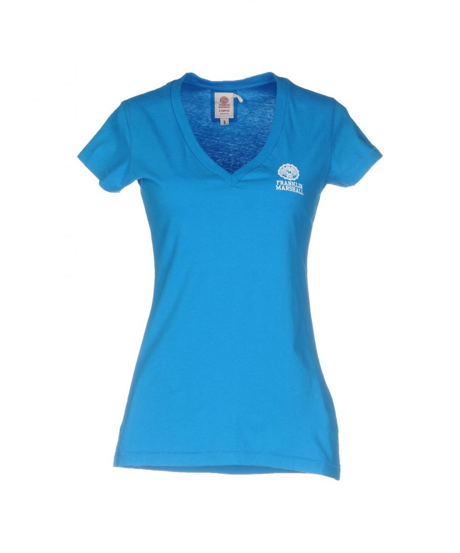 Image for TOPWEAR Franklin & Marshall Blue Woman Cotton