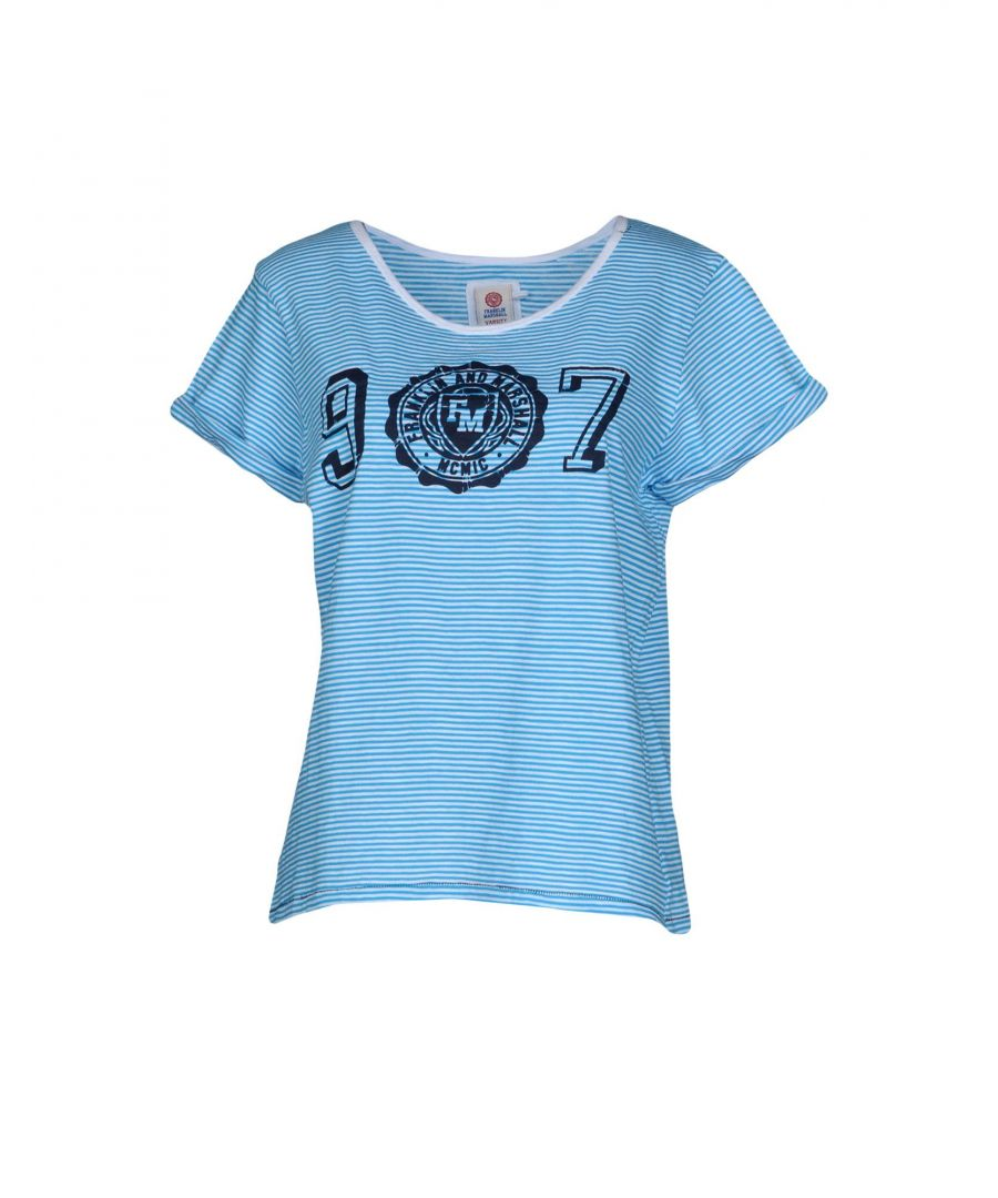 Image for TOPWEAR Franklin & Marshall Azure Woman Cotton