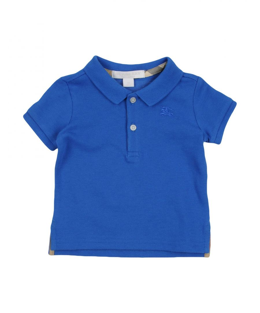 Image for TOPWEAR Burberry Blue Boy Cotton