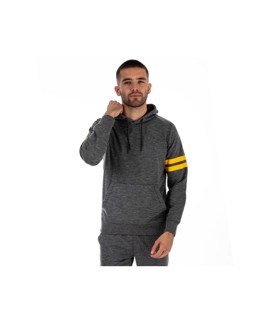 Image for Men's Jack Jones Axelsen Hooded Sweat in Charcoal