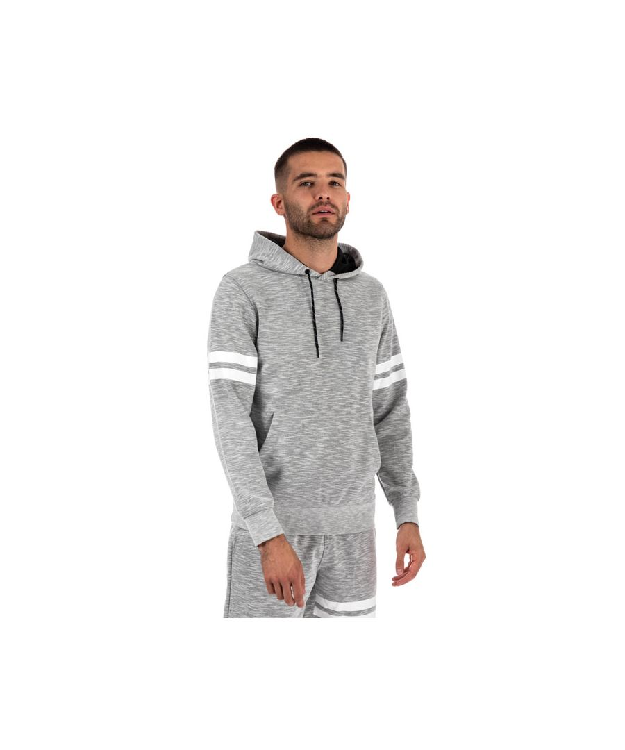 Image for Men's Jack Jones Axelsen Hooded Sweat in Light Grey