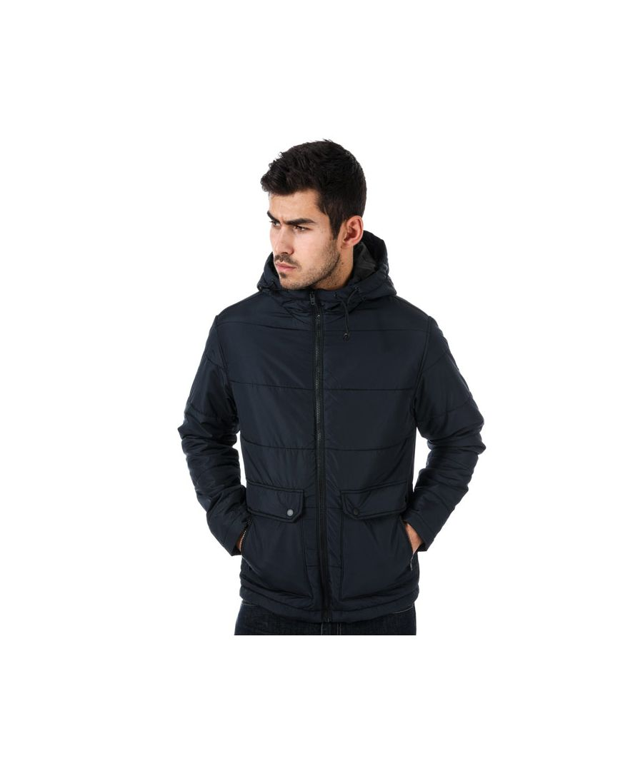 Image for Men's Jack Jones Creek Puffer Jacket in Navy