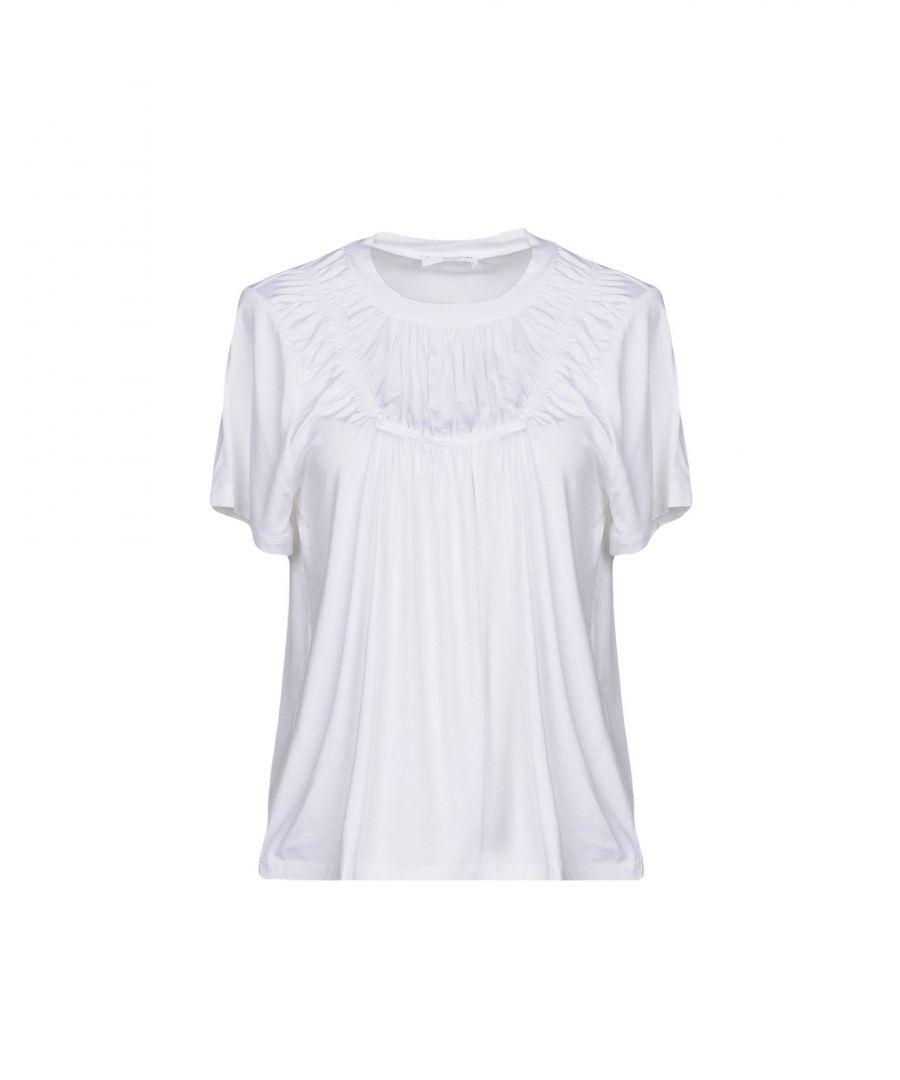 Image for Sonia Rykiel White Jersey T-Shirt