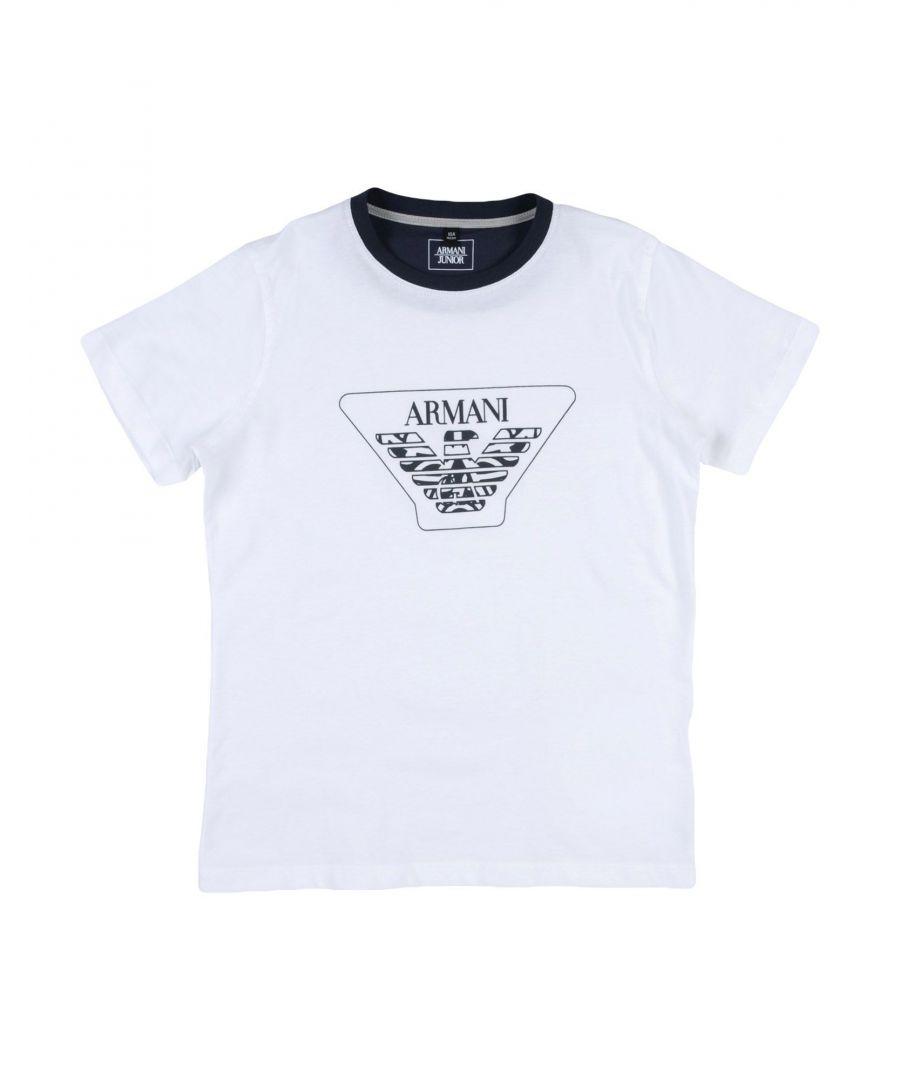 Image for TOPWEAR Armani Junior White Boy Cotton