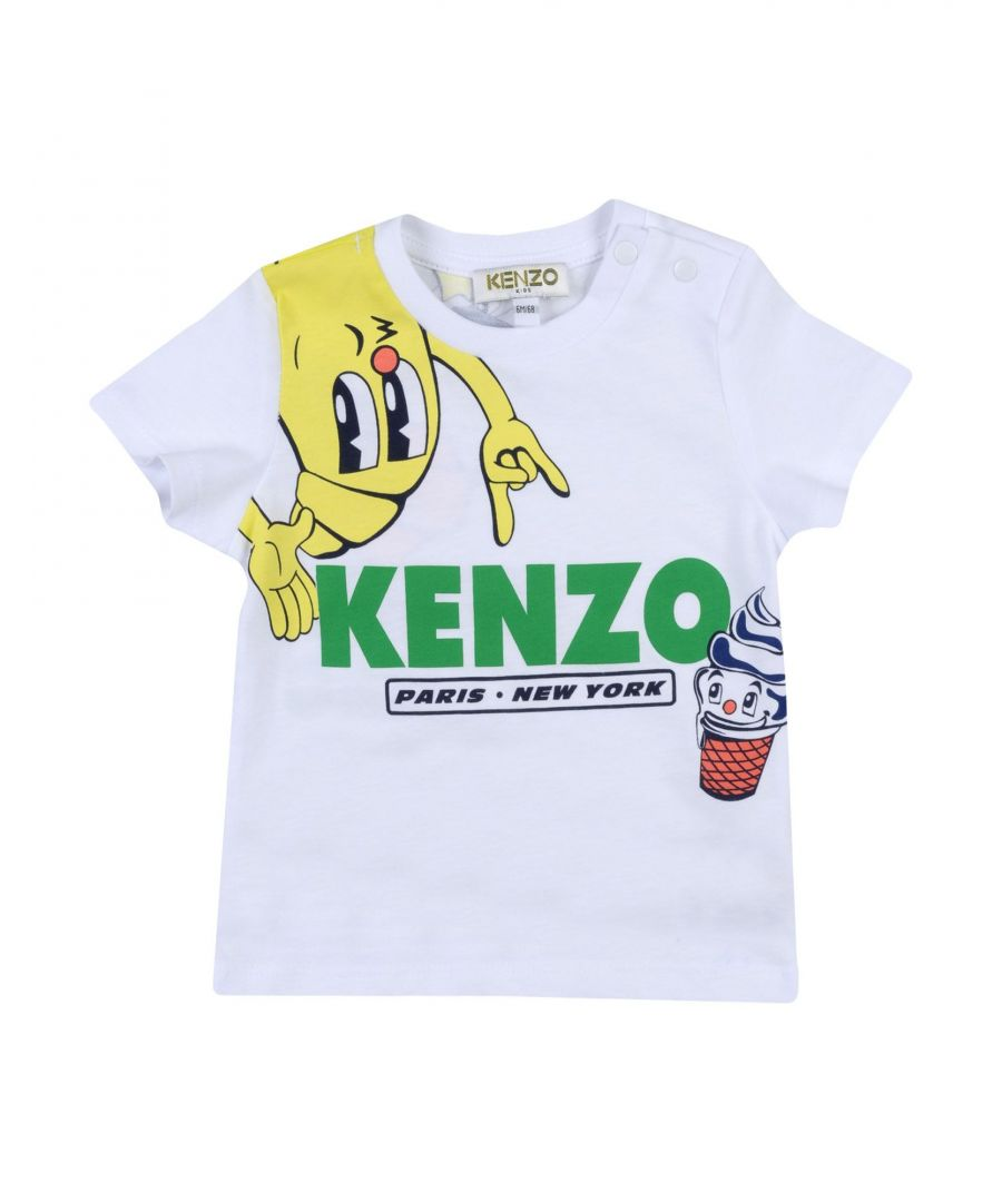 Image for TOPWEAR Kenzo White Boy Cotton
