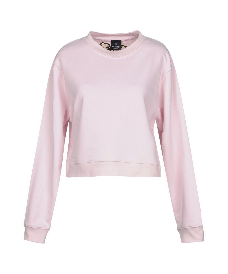 Image for Pinko Uniqueness Women's Sweatshirts Pink Cotton