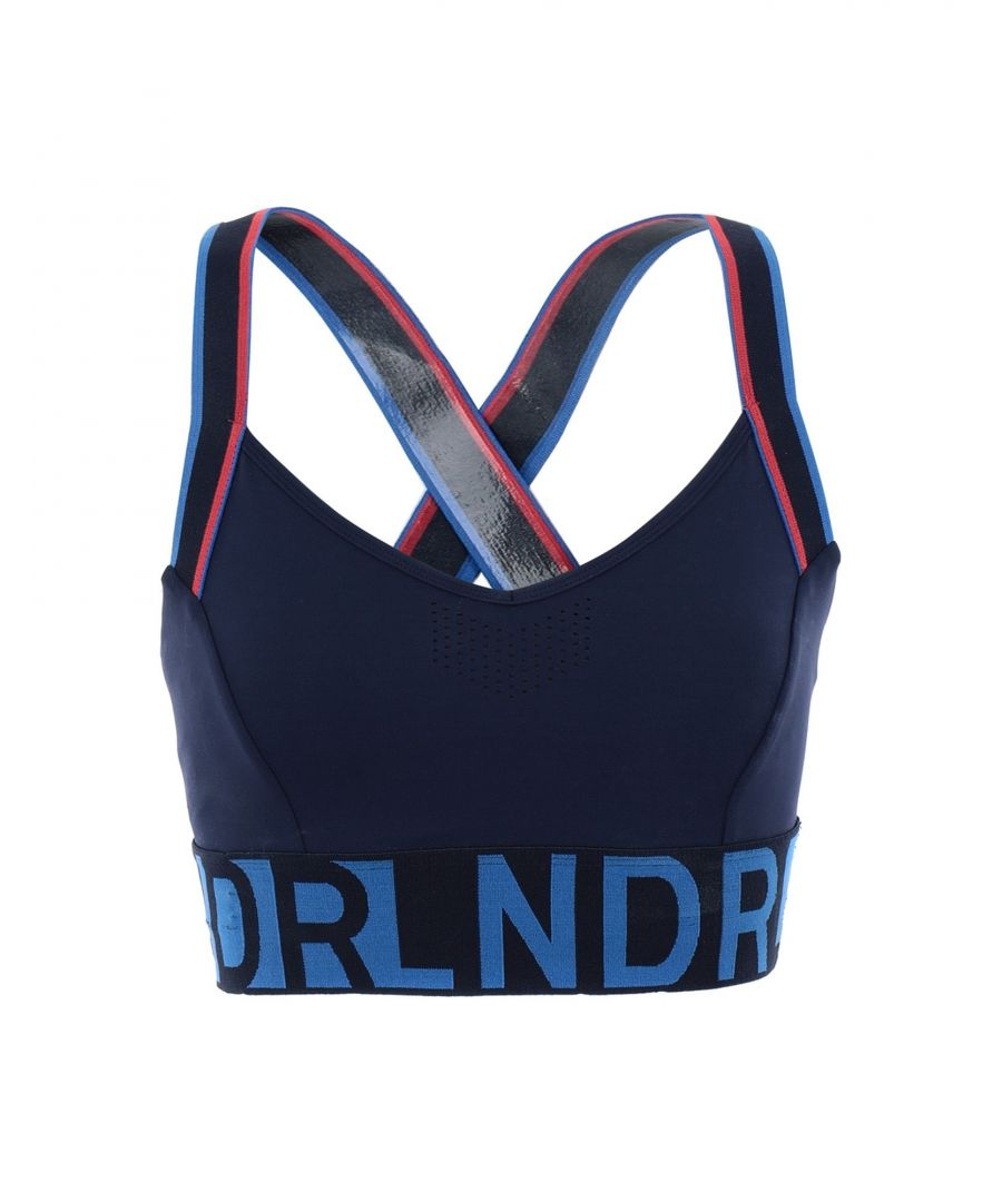 Image for LNDR Dark Blue Logo Sports Bra