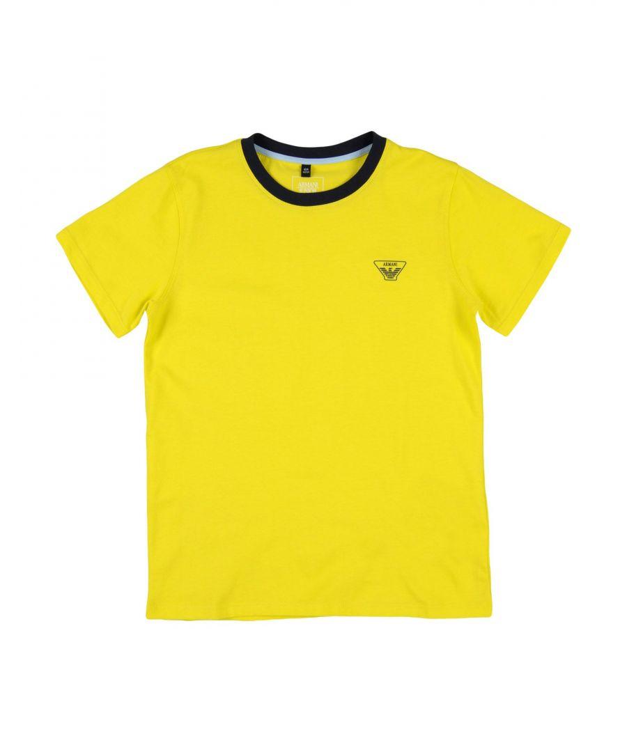 Image for TOPWEAR Armani Junior Yellow Boy Cotton