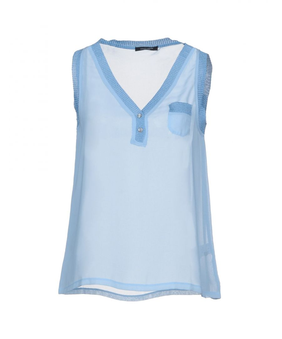 Image for Roberto Collina Sky blue Polyester Tops