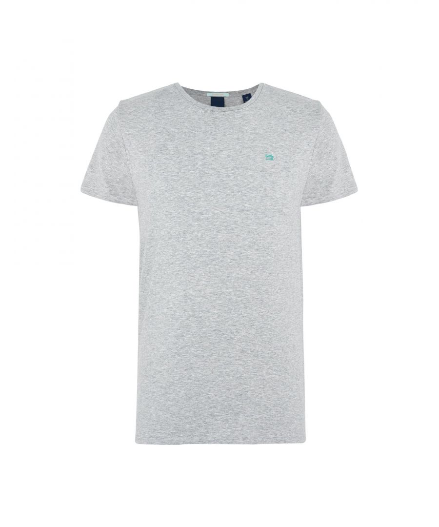 Image for Scotch & Soda Grey Cotton T-Shirt