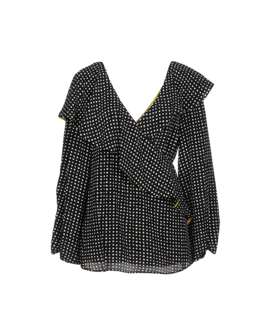 Image for Diane Von Furstenberg Black Silk Blouse