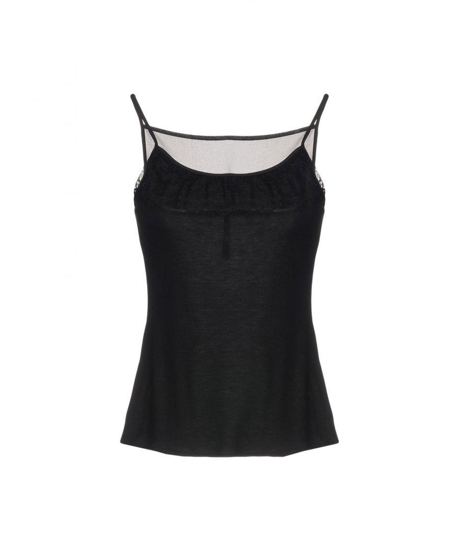 Image for Karen Millen Black Jersey Camisole
