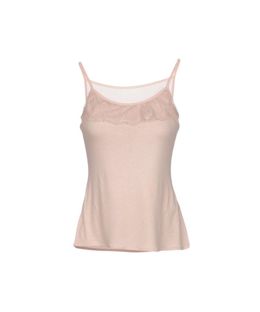 Image for Karen Millen Pale Pink Jersey Camisole