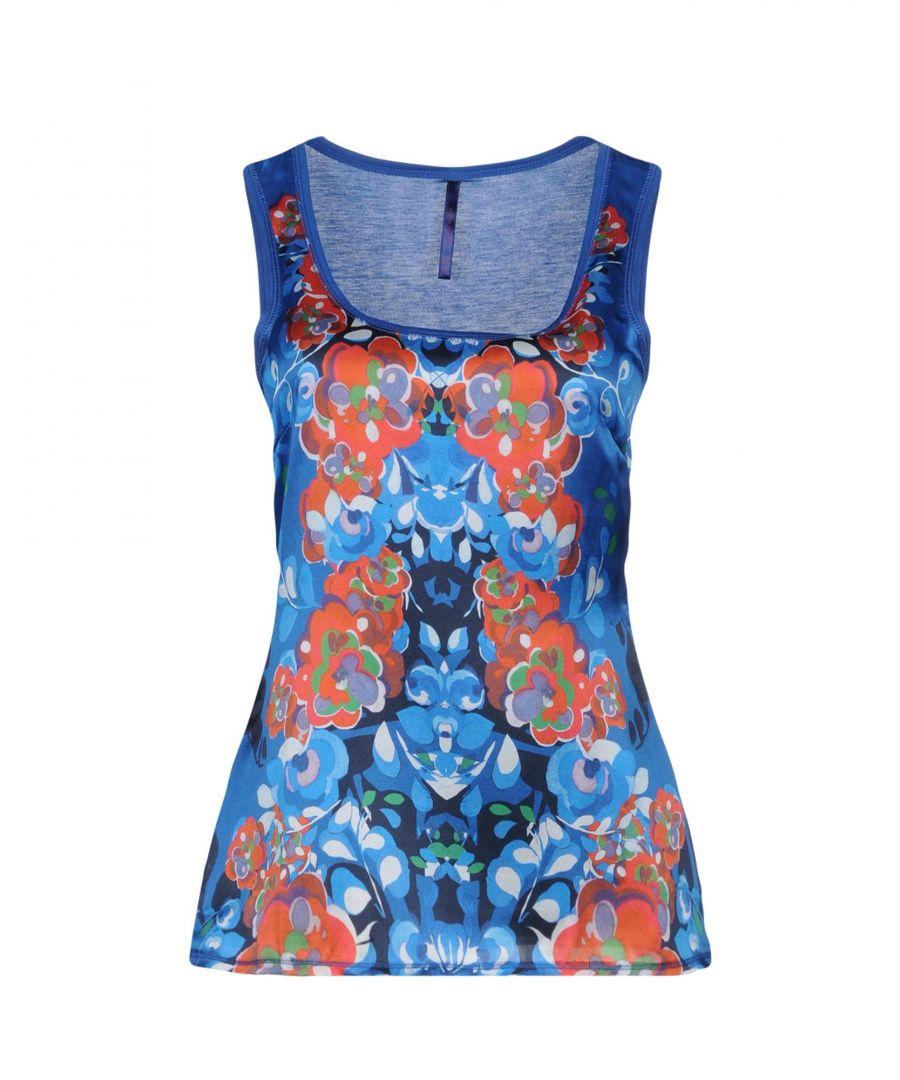 Image for TOPWEAR Karen Millen Blue Woman Viscose