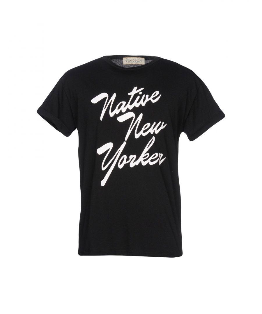 Image for Être Cécile Black Cotton T-Shirt