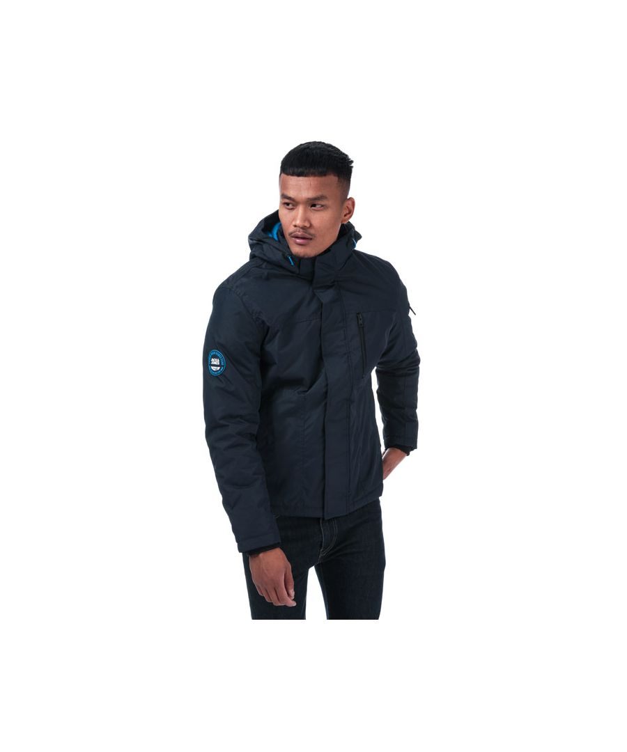 Image for Men's Jack Jones Kool Padded Jacket in Navy