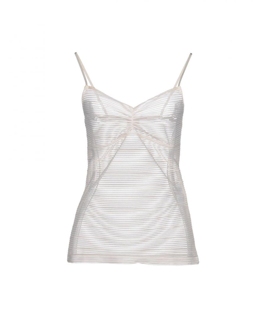 Image for By Malene Birger Ivory Jersey Camisole
