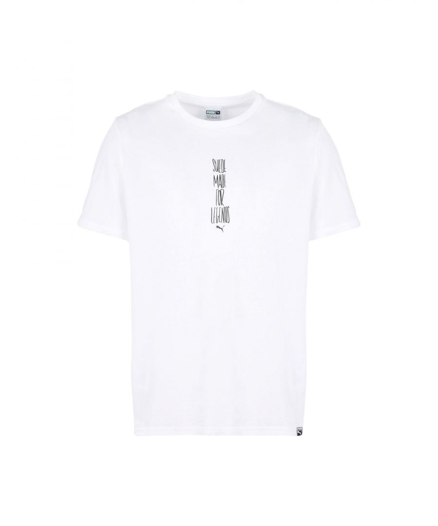 Image for Puma White Cotton T-Shirt