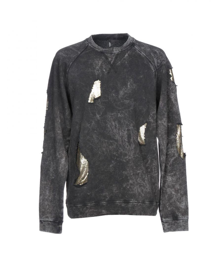 Image for Versus Versace Steel Grey Cotton Sweatshirt