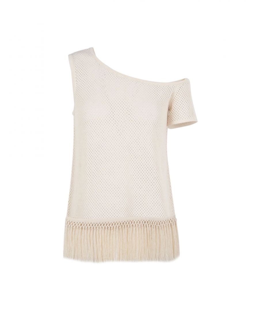 Image for Edun Ivory Cotton Tops