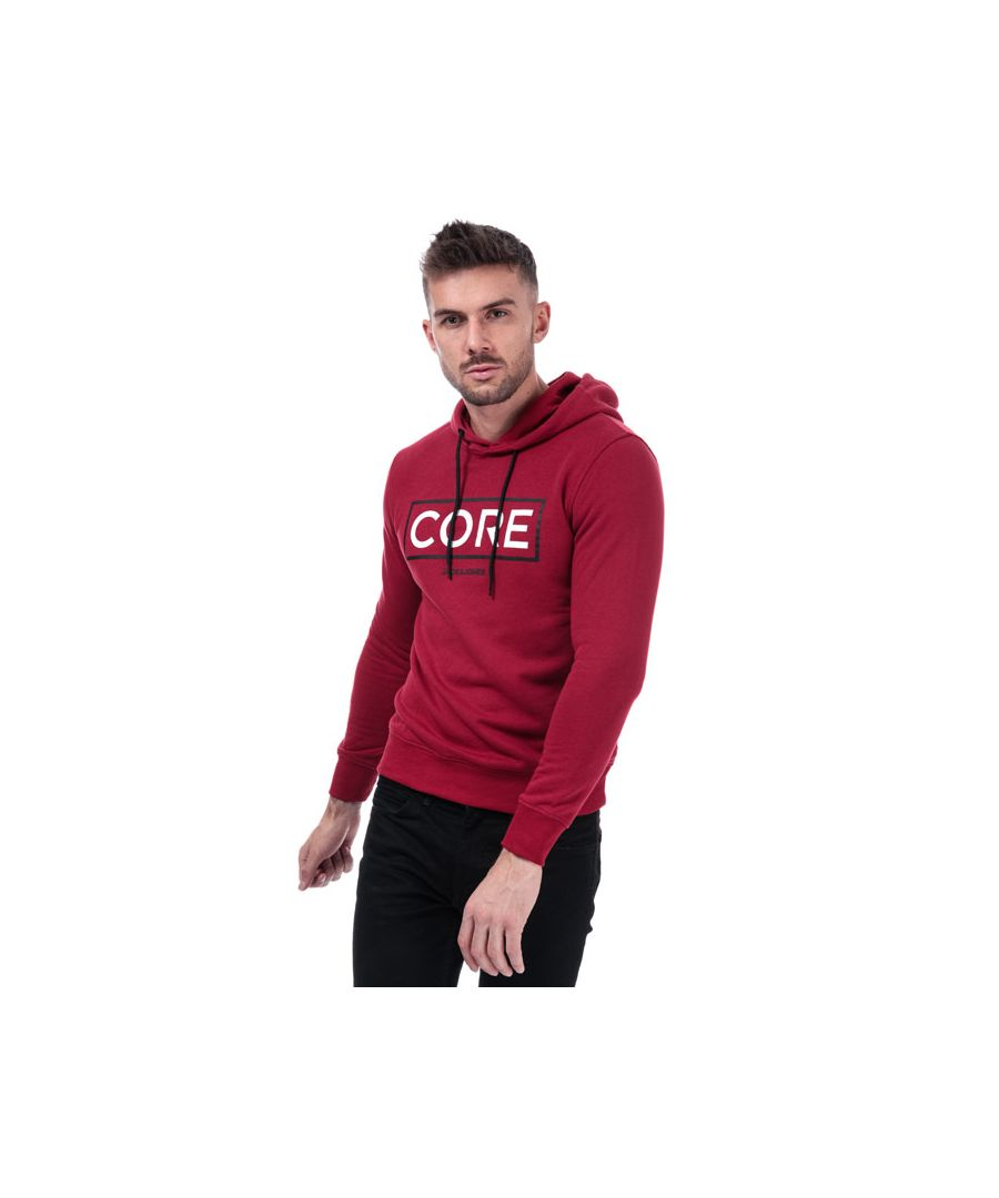 Image for Men's Jack Jones Booster 9 Sweat Hoody in Red