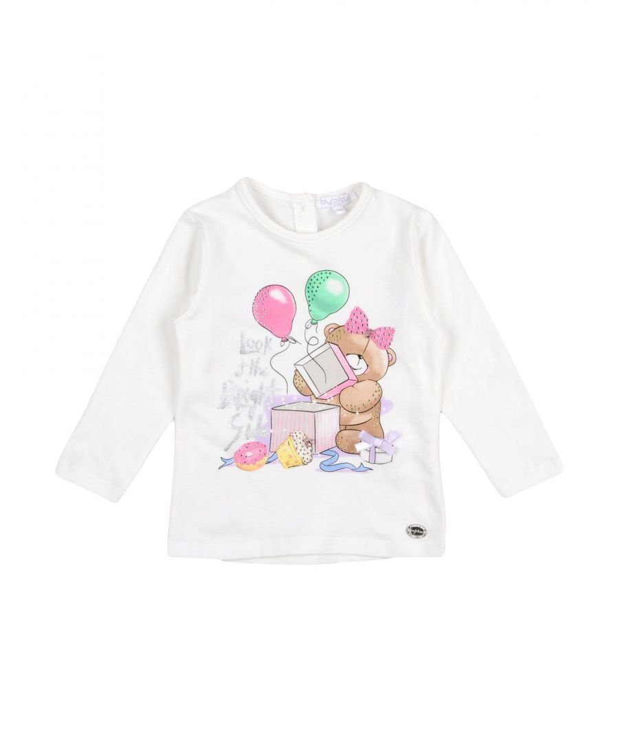 Image for TOPWEAR Byblos Ivory Girl Cotton