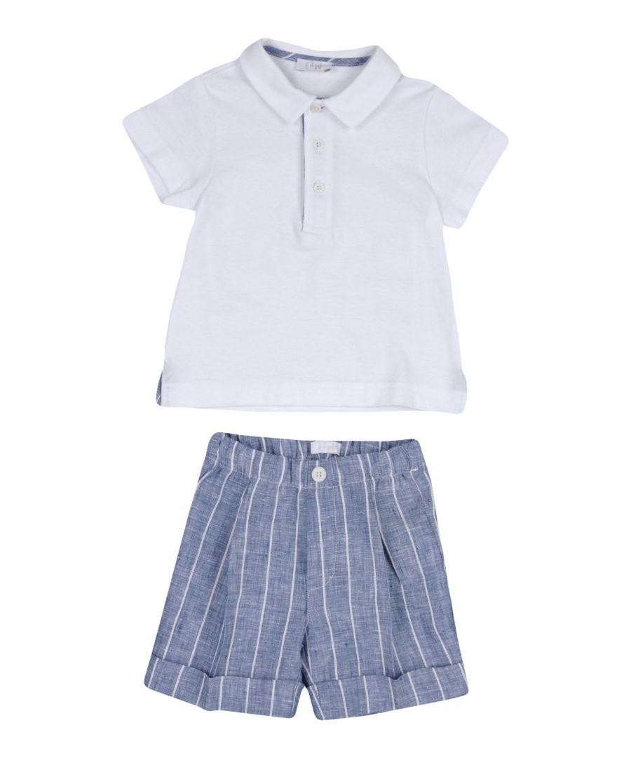 Image for BODYSUITS & SETS Il Gufo White Boy Cotton